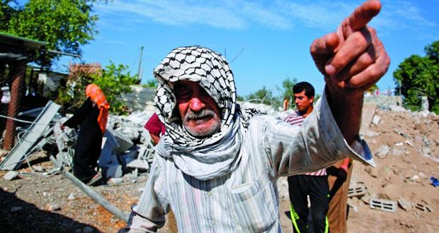 جرحى فلسطينيون باقتحام قوات الاحتلال بلدة أمر في الخليل