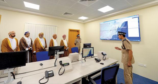 افتتاح وحدة شرطة المهام الخاصة بالدقم وتخريج فصائل من المستجدين