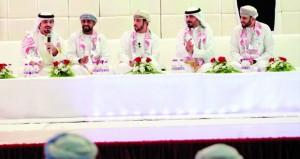 برزة شعراء ولاية صور تختتم فعالياتها الثقافية بأمسية شعرية عمانية كويتية