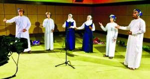 المخرج بدر المعشري ينهي تصوير أعمال فنية بمناسبة العيد الوطني الـ47 المجيد