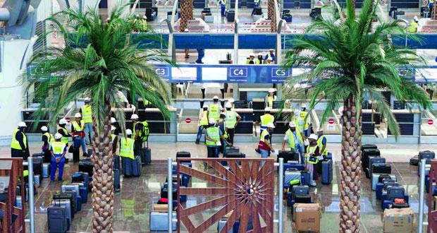 """""""العمانية لإدارة المطارات"""" تدشن مرحلة التجارب التشغيلية المتقدمة في مطار مسقط الدولي الجديد .. اليوم"""