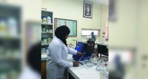 """""""التجارة والصناعة"""": مختبر الكيمياء العام يقدم الحماية لمنتجات التجار والموردين"""