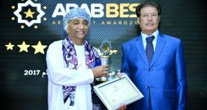 """""""الوطنية للعبّارات"""" تـحـصـل عـلـى جائزة أفضل شركة عربية في النقل البحري"""