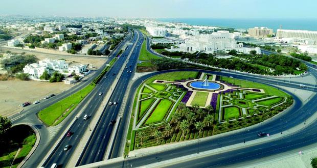 بلدية مسقط تنتهي من تنفيذ مشروع نافورة الأقواس والحديقة المحيطة بدار الأوبرا السلطانية
