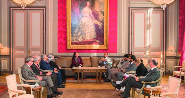 تدشين المعرض الثقافي العماني في بروكسل