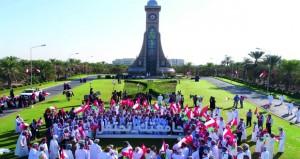 جامعة السلطان قابوس تحتفل بالعيد الوطني الـ»47» المجيد