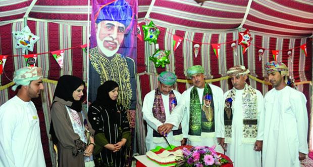 إدارة الادعاء العام بالمصنعة تحتفل بالعيد الوطني السابع والأربعين المجيد
