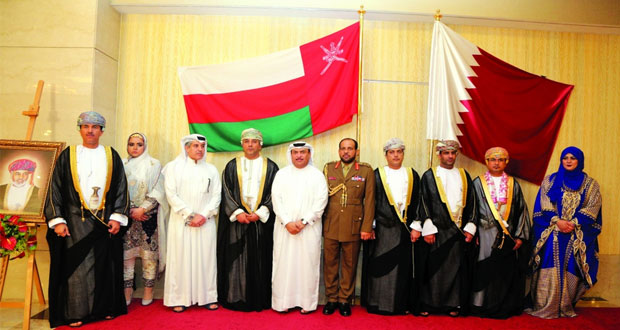 سفارات السلطنة تحتفل بالعيد الوطني الـ 47 المجيد