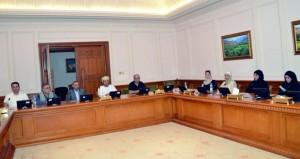 وفد أمانة مجلس الأعيان الأردني يختتم زيارته للسلطنة