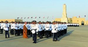 شرطة عمان السلطانية تحتفل بافتتاح وحدة شرطة المهام الخاصة بالدقم وتخريج فصائل من الشرطة المستجدين