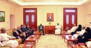 الأمين العام لمجلس الدولة يستقبل وفد أمانة مجلس الأعيان الأردني