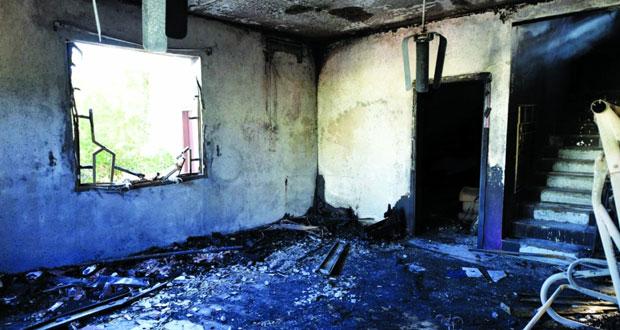 وفاة ثمانية أشخاص ونجاة اثنين في حريق بأحد المنازل ببركاء