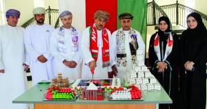 """مديرية الادعاء العام بجنوب الباطنة تحتفل بالعيد الوطني الـ""""47″ المجيد"""
