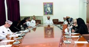 اجتماع المجلس الاستشاري لكلية التربية بجامعة السلطان قابوس