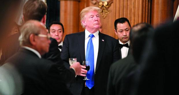 ترامب يحذر من أن زمن الصبر الاستراتيجي حيال كوريا الشمالية ولى