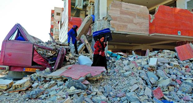 زلزال إيران: إعلان الحداد وانتهاء عمليات الإنقاذ في المناطق المتضررة