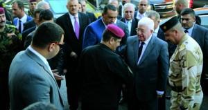 العراق: معصوم يبحث في أربيل العلاقة بين بغداد وكردستان