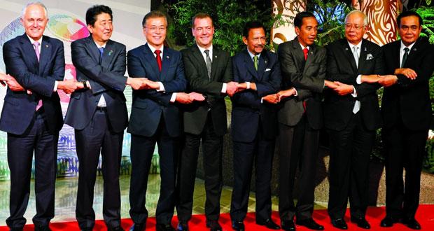 (قمة آسيان): الإعلان عن بدء مفاوضات رسمية مع الصين بشأن البحر الجنوبي