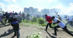 كينيا : أوهورو كينياتا يؤدي اليمين الدستورية رئيسا لولاية ثانية