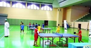 24 لاعبا يتأهلون للتصفيات النهائية في دوري ستاج لكرة الطاولة للمدارس