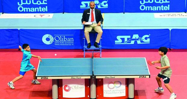 أحمد الريامي يتوج بطلا لدوري ستاج لكرة الطاولة للمدارس والشحي وصيفا