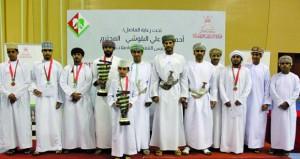 السعيدي يتوج بطلا لفئة العمومي ببطولة عمان للشطرنج والبوسعيدي لفئة الشباب
