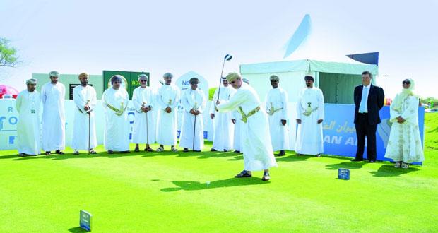 انطلاق بطولة البنك الوطني الكلاسيكية للجولف