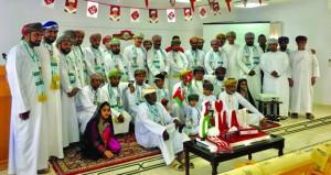 الشؤون الرياضية بشمال الباطنة تحتفل بالعيد الوطني السابع والأربعين المجيد