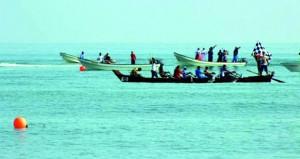 اليوم .. انطلاق سباق أوربك البحري لقوارب التجديف القديمة والشوش
