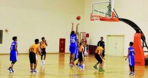 3 مباريات في الأسبوع الثامن 8 لدوري الأشبال لكرة السلة