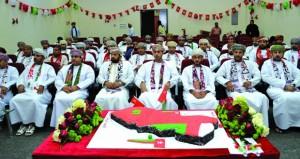 وزارة الشؤون الرياضية تحتفل بالعيد الوطني السابع والأربعين المجيد
