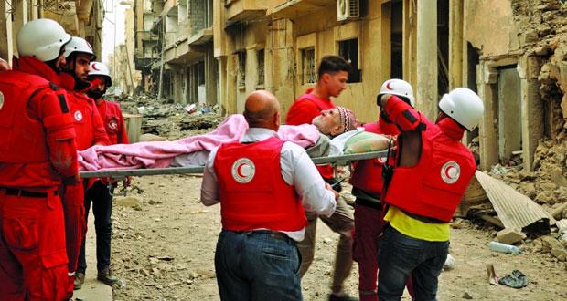 سوريا: نستهدف الذين يسعون إلى تقسيم الدول وإضعافها