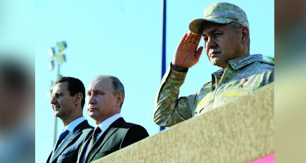 سوريا: في زيارة مفاجئة .. بوتين يجتمع بالأسد في حميميم