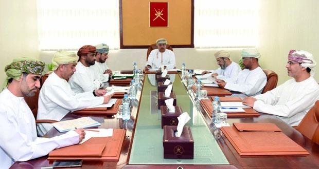 اجتماع اللجنة الرئيسية لمعرض مسقط الدولي للكتاب