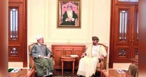 رئيس مجلس الشورى يتسلم رسالة خطية من نظيره الإيراني