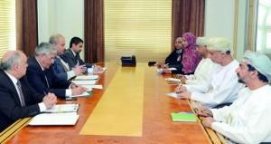 بحث مجالات التعاون التربوي بين السلطنة ومصر