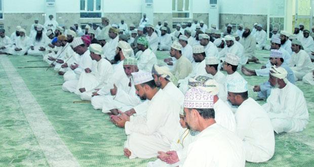 افتتاح مسجد «الأنفال» بالمنطقة السادسة فـي العامرات