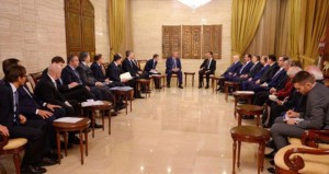 الأسد يؤكد أن الحرب على الإرهاب لم تنته لكن بلاده قطعت خطوات مهمة بها