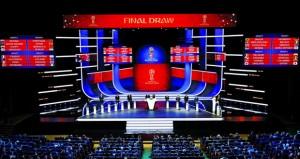 قرعة مونديال روسيا 2018 : السعودية ستواجه مصر ومهمة صعبة لتونس والمغرب