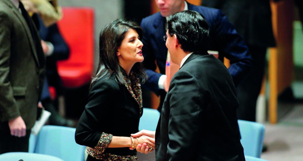 ردود فعل عربية ودولية منددة باستخدام أميركا (الفيتو) ضد مشروع قرار حول القدس