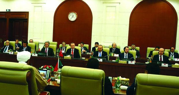 السودان توقع اتفاقية للشراكة الاستراتيجية مع تركيا