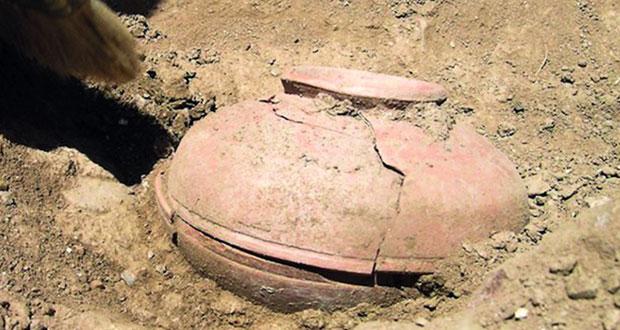 العثور على خزفيات تاريخية في مدينة إيرانية