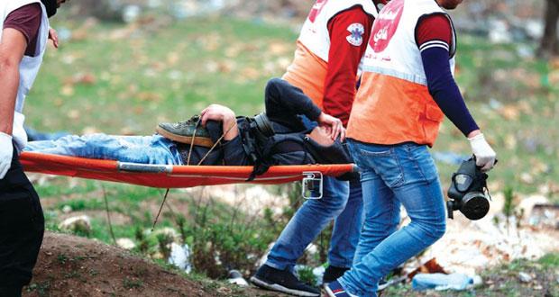 الاحتلال يقصف غزة ويصعد من الاعتقالات وإخطارات الهدم في الأراضي الفلسطينية