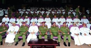 الحرس السلطاني العماني يحتفل بيوم المتقاعدين