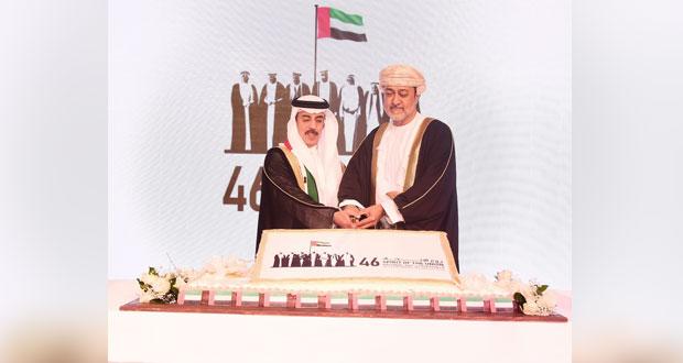سفارة دولة الإمارات تحتفل باليوم الوطني السادس والأربعين