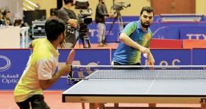 اللاعبون المصنفون يسيطرون على منافسات «عمان فايبر أوبتك» الدولية للطاولة