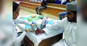 فعاليات توعوية للسكري في محافظة ظفار