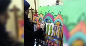 """""""التراث والثقافة"""" بالبريمي تختتم دورة المكسد ميديا والرسم بألوان الأكريليك"""