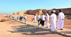 (11791) زائرا لمواقع أرض اللبان نوفمبر الماضي