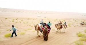 اختتام فعاليات رحلة قافلة حداء الصحراء في نسختها الثانية غدا
